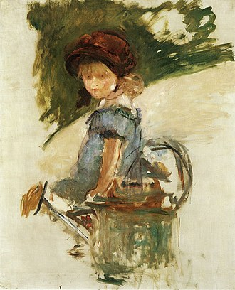 Julie Manet - Image: Edouard Manet Julie Manet sitting on a watering can