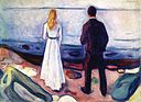 Edvard Munch - Two Human Beings (The Lonely Ones) (1905).jpg