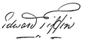 Edward Tiffin signature.png