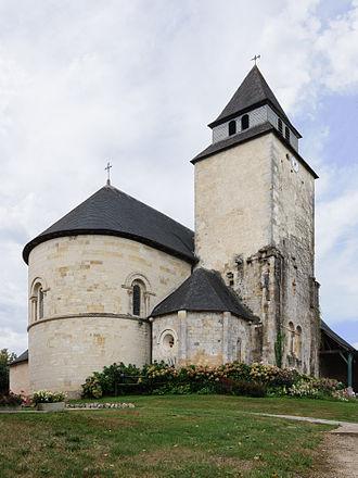 Lacommande - L'église Saint-Blaise, monument historique