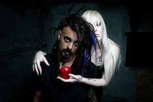Ego Likeness - Ego Likeness pose for their album Breedless