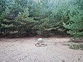 Ehemalige innerdeutsche Grenze bei Menzendorf mit Gedenkstein, Anna-Lena (17. Juni 1984 - 7. Juli 2013) - Ging die Sonne unter und ein Stern erschien am Himmel - panoramio.jpg