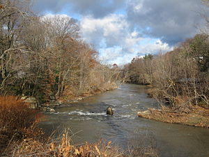 Eighteen Mile Creek (Erie County) - Eighteen Mile Creek in Hamburg, New York.
