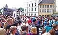Eilenburg 1050-Jahrfeier Pub-Buehne Line-Dance4.jpg