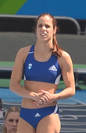 Katerina Stefanidi - Stefanidi at the 2016 Olympics