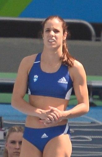 Katerina Stefanidi - Stefanidi at the 2016 Olympics