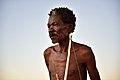 Elia Fester, Kalahari Khomani San Bushman, Boesmansrus camp, Northern Cape, South Africa (19918987733).jpg