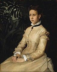 Portrait of the Artist's Sister Ellen Edelfelt