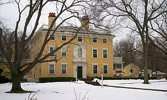 Elmwood (Cambridge, Massachusetts) - Main house, December 2008