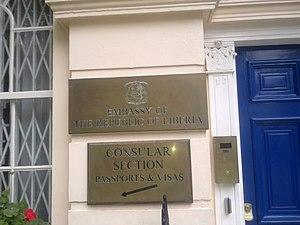 Embassy of Liberia, London - Image: Embassy of Liberia in London 2
