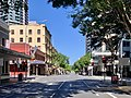 Empty Edward Street, Brisbane during the COVID-19 pandemic in Australia, April 2020.jpg