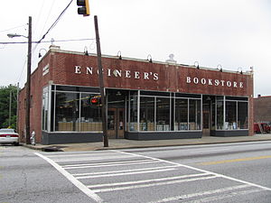 West Midtown - Engineer's Bookstore serves the many Georgia Tech students who inhabit West Midtown