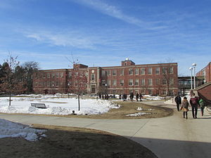 University of Massachusetts Amherst College of Engineering - Engineering Quad and Marston Hall