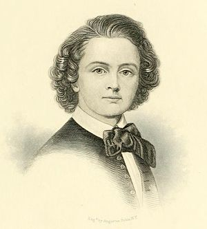 Harriet Hosmer - Harriet Hosmer, engraving by Augustus Robin (1873)