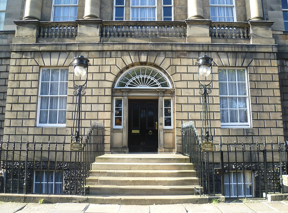 Entrance to Bute House