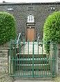 Entrance to Rishworth Congregational Chapel, Parrock Nook, Rishworth - geograph.org.uk - 835361.jpg