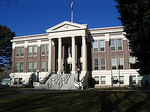 Grant County, Washington - Image: Ephrata, WA Grant County Courthouse