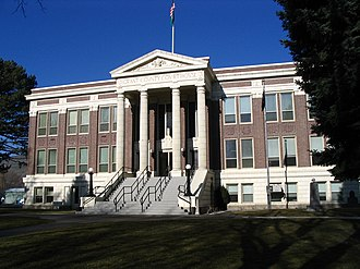 Ephrata, Washington - Grant County Courthouse in Ephrata, Washington.
