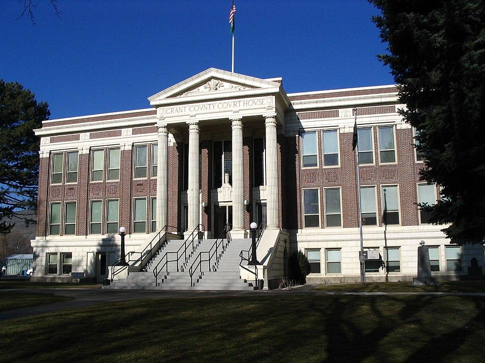 Grant County Courthouse in Ephrata, Washington.