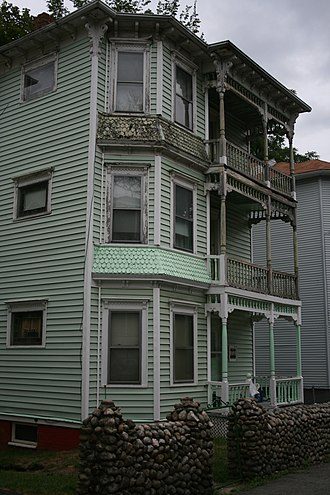 National Register of Historic Places listings in Worcester County, Massachusetts - Image: Eric Carlson 3 Decker