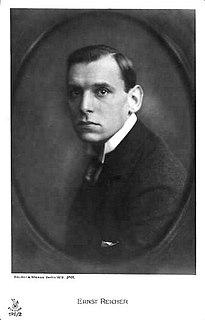 Ernst Reicher German actor