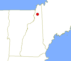 Location of Erving's Location