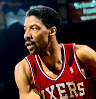 Julius Erving - Erving with the Philadelphia 76ers