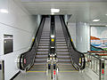 Escalator of Cheongpyeong Station.JPG