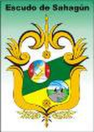 Sahagún, Córdoba - Image: Escudo de sahagun 1