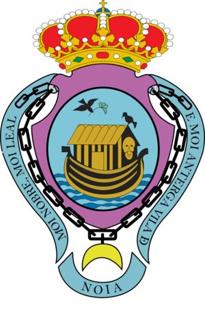 Noia - Image: Escudo do concello de Noia