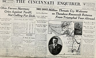 The Cincinnati Enquirer - Image: Essentials in journalism; a manual in newspaper making for college classes (1912) (14598009019)