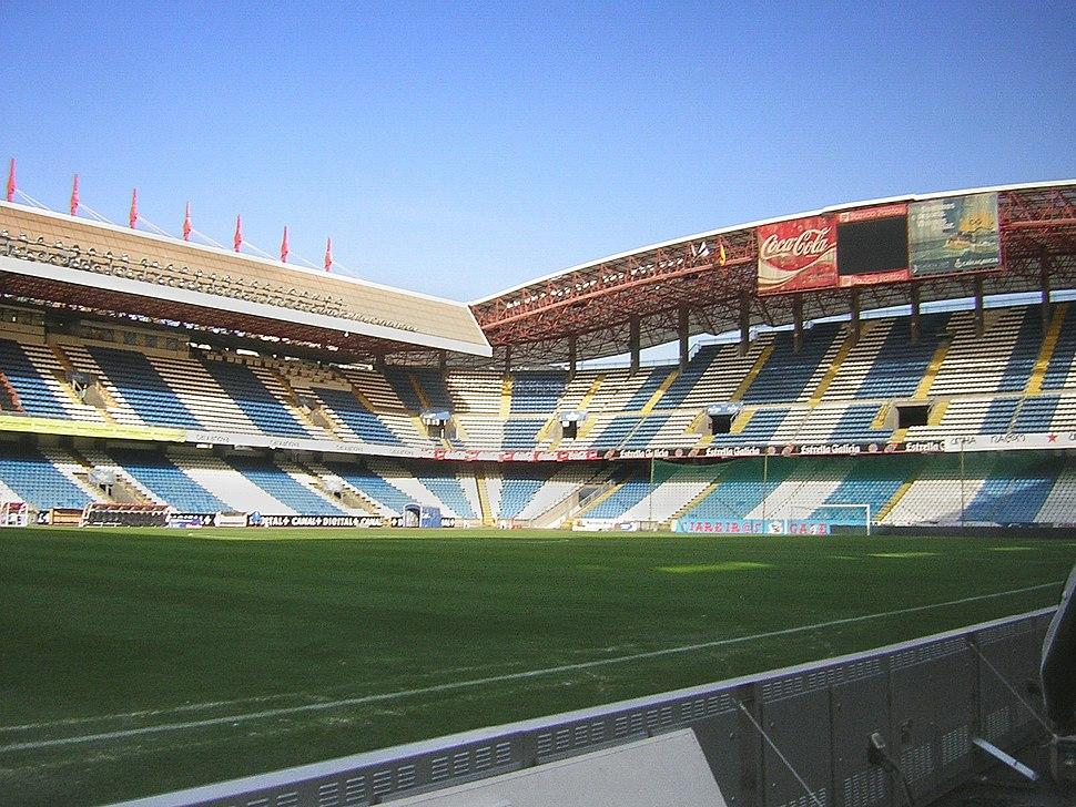 Estadio de Riazor.A Corunha.Galiza