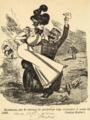 Esterhazy sur le tonneau de poudre - Lustige Blatter - 1898.png