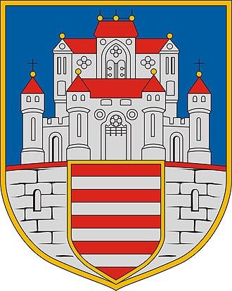 Esztergom District - Image: Esztergom címere