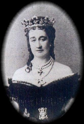 Eugénie de Montijo - Empress Eugénie. Daguerreotype