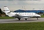 Eurojet G-IPAX Cessna 560XL Coventry(2) (38869014391).jpg