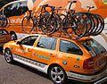 Euskaltel team cars.jpg