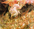 Evelyn de Morgan - Angel Piping to the Souls in Hell, 1897.jpg