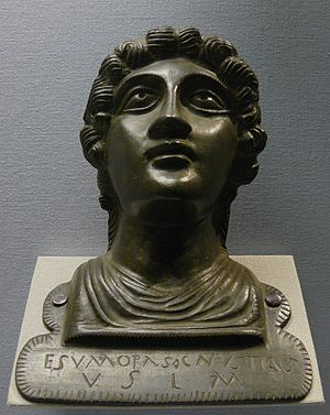 Gallo-Roman religion - A votive offering to an unnamed deity