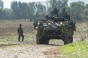 LAV III - A Canadian LAV-III during exercise TRIDENT JUNCTURE