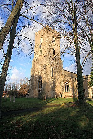 Exning - Image: Exning Church of St Martin