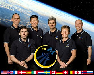 Expedition 16 - Image: Expedition 16 Portrait