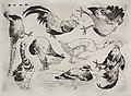 Félix Bracquemond - Dinner Service (Rousseau service)- Roosters, ducks, etc. (no. 13) - 1922.403 - Cleveland Museum of Art.jpg