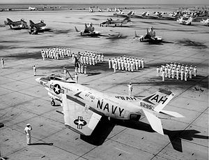 VFA-161 - Retirement of the last F3H Demon at NAS Miramar in September 1964