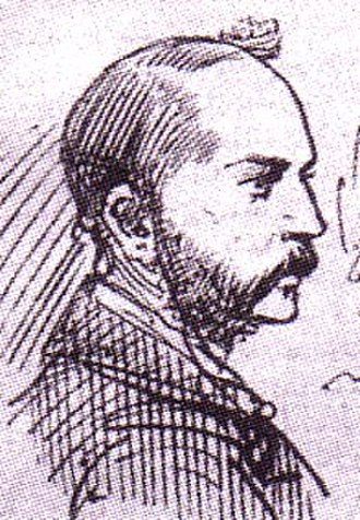 Cleveland Street scandal - Illustration of Inspector Frederick Abberline from a contemporary newspaper
