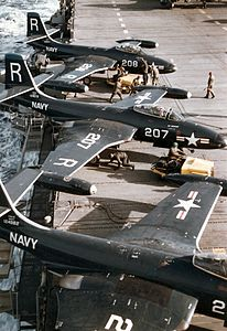 F2H-2s VF-172 on USS Essex (CV-9) c1951.jpeg