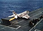 F3H-2 of VF-161 is launched from USS Oriskany (CVA-34) 1962.jpg
