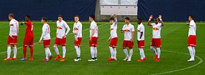FC Liefering - FC Liefering squad league match vs. TSV Hartberg (17 April 2015)