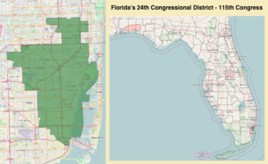 Florida's 24th congressional district - Florida's 24th congressional district - since January 3, 2017