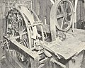 FMIB 44289 Smith Fish Cleaner - View of the Iron Chink in Cannery of the United Fish and Packing Co, Seattle.jpeg